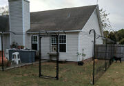 Kitty Corral Cat Fence System 7.5and039 X 300and039