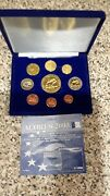Acores 2005 - 9 Coin Euro Prototype Pattern Proof Set