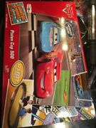 Disney Pixarand039s Cars Piston Cup 500 Track Set 2 Cars Toys R Us Exclusive New Seal
