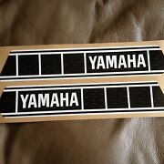 Yamaha Fuel Tank Decals Vintage Gas Tank Stripe 2x10 3/4 Yz50 Yz50g Perforated