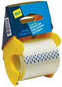 Seal-it Crystal Clear Filament Strapping Tape With Dispenser 2 X 360 70652