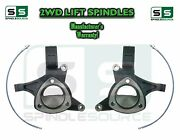2015+ Chevrolet Tahoe 2wd 5 Lift Spindles + Brake Lines Stamped / Alum. Arms