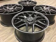 18 18 Inch Oem Spec Mercedes C63 Amg Staggered Wheels Rims C Class E Class New