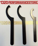 Coilover Adjustment Tool 3x Steel Spanner Wrench For Aftermarket Coil Over Kit