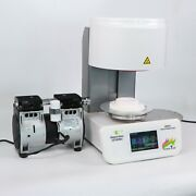 Dental Lab Equipment Automatic Programmable Porcelain Furnace With Vacuum Pump