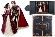 Snow White And Platinum Doll Set 17 Deluxe Disney Store Limited Le 650