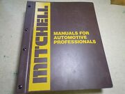 Mitchell 1982-87 Heating And Air Conditioning Service And Repair Domestic Car Truck