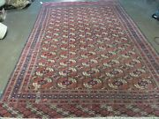6and039 X 10and039 Antique Hand Made Bokhara Turkoman Yamud Wool Rug Carpet Nice 61