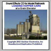 Ho Scale Sound Effects Cd Loading Hopper Cars At A Grain Elevator