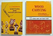 Wood Carving And Whittling Books - Tangerman Wheeler And Hayward