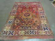 5and039 X7and039 Antique Hand Made Turkish West Anatolian Bergama Wool Rug Collectible 70