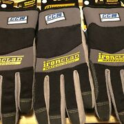 Lot Of 3 Ironclad Ccw Cold Condition Waterproof Windproof Work Gloves S M L Xl