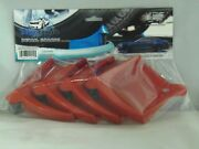 Detail Guardz Car Auto Cleaning Detailing Wash Cleaner Hose Guide 4 Pack Red