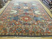 8and039 X 11and039 Antique Hand Made Fine Turkish Wool Rug Carpet Colorful Nice