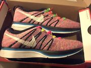 Nike Flyknit Trainer + Multicolor Men's 8.5 Womens 10 100 Authentic