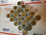 20 Unsearched Bank Rolls 500 Presidential Sacagawea And S.b.a. Dollar Coins