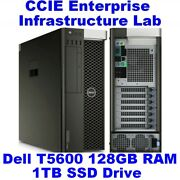 Cisco Ccie Lab Enterprise Infrastructure Ei Ine Dell T5600 128gb Eve-ng Sd Wan