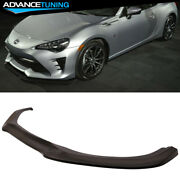 Fits 17-20 Toyota 86 Frs Gt Style Front Bumper Lip Pu
