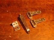 Vintage Stainless Steel Reefer/ice Box Hardware