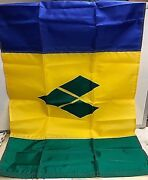 Dura-lite 2and039x3 St. Vincent And Grenadines Nylon Courtesy Flag W/brass Grommets