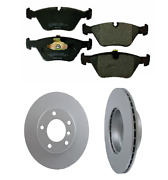 2 Pagid Front Rotor Kit Disc Brake Brembo Pad Set For Bmw X5 X6 Check Fitment