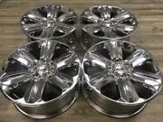 20 Ford F-150 Expedition King Ranch Oem 2018 Rims Wheels Chrome 2015 2016 2017