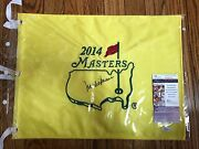 Mark Oand039meara- Signed 2014 Masters Flag- Jsa- Augusta Official Flag- Auto- Signed