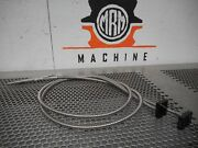 Banner Ir23smcsc Fiber Optic Cable Sensor Used With Warranty Lot Of 2