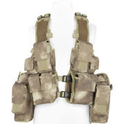 Mfh South African Assault Vest Hunting Tactical Airsoft Military Hdt Camo Au