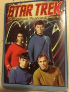 New Star Trek Collector Playing Cards Hoyle-first In The Seriesrare Free Ship