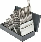 Hertel 1 To 60, Chucking Reamer Set Straight Flute, Right Hand Cut, 60 Pieces