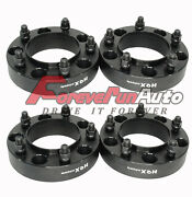 4pc 1.5 5x150 Black Hub Centric Wheel Spacers Adapters For Toyota Tundra Lexus