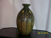 *Charles Catteau*Boch Freres Keramis Art Deco c1925 Art Pottery Stoneware Vase