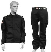 Rjs Racing And039elite Fire Suit 2 Piece Sfi 3-2a/1 Jack And Pants Combo M Lg 2x 3x 4x