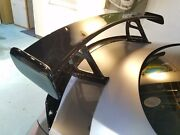 Black Series Fiber Glass Gt Rear Wing Spoiler For M. Benz W205 C63s C63 R Coupe