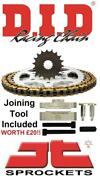 Suzuki Gsxr750 Y-k3 00-03 Did And Jt Chain And Sprocket Kit + Tool