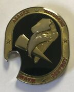 Usaf Us Air Force 319th Missile Sq Screaming Eagles Bottle Opener Coin