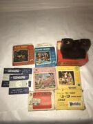 Vintage Bakelite 3d View-master Model E Viewer Boxed With 3d Reels Snow White Et