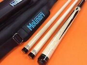 Jacoby Carom Cue 0817-21c Edge Hybrid Shafts And Molinari Case Special Edition