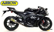 Full Exhaust System Arrow Competition Full Titanium For Kawasaki Zx-10rr 17 20