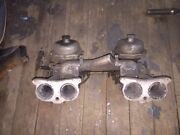 Triumph Tr4 Stromberg Carbeurators With Manifold
