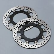 Front Brake Disc Rotors Fit For Yamaha Yzf-r1 07-14 Yzf-r6 05-14 Yzf-r6s 05-09