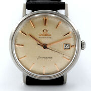 Omega Seamaster Automatic 14770 Sc61 Caliber 562 Case 34 Mm Steel Watch