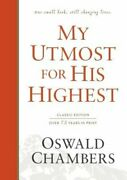 My Utmost For His Highest Classic Language Hardcover By Oswald Chambers New