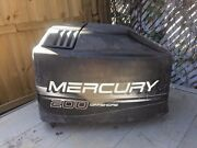 Mercury Outboard Motor Boat Engine Cover Cowling Hood Marine 200hp V-6 Offshore