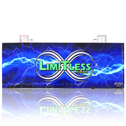 Limitless Lithium 45ah W/ Terminals Car Audio 8500 Rms 12v Lifepo4 Battery