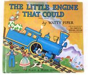 1961 Vintage Book Entitled The Little Engine That Could By Watty Piper