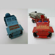 Joyax Toy In Soldiers' Tale - Jeep Firefighter + Tank/operating Forestry Cars