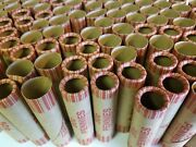 500 Penny Paper Coin Wrappers. Pre-crimped 1 End. Shotgun Rolls. 1 Cent Pennies