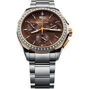 Maurice Lacroix Miros Chronograph Ladies Watch Mi1057-pvp22-760 Rrp Andpound2440 - New